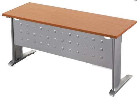 Computer Desk On Casters Rstyle C Series Training Room Table Steel Modesty Panel