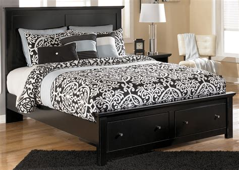 king size wood headboard and footboard wood king size bed frame with drawers with solid black