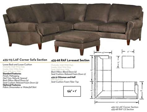 Sectional Sofa Configurations by Our House 435 Sectional Sofa Ohio Hardwood Furniture