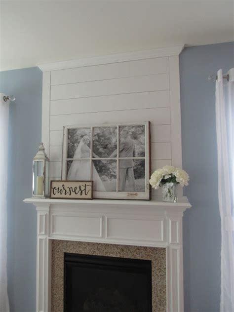 Shiplap Molding My Kentucky Home Design Diy Shiplap Fireplace Makeover
