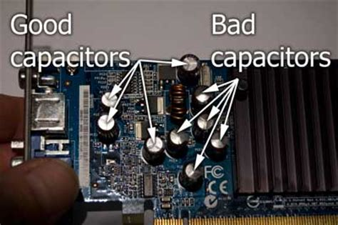 symptoms of a bad capacitor on a motherboard a computer that randomly and frequently freezes up