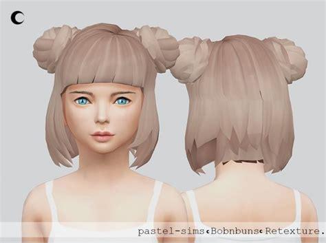 pulled up curls recolours at seven sims sims 4 updates bob n buns child at kalewa a via sims 4 updates sims