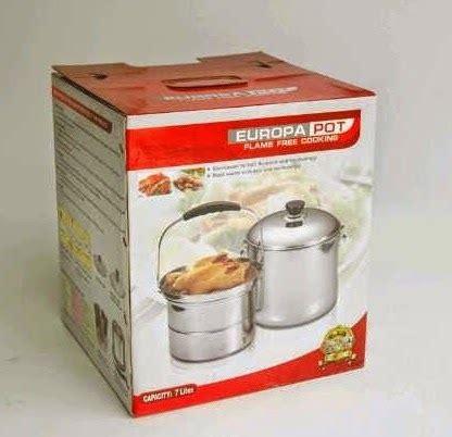 Panci Cook panci europa izzy cook pot alat masak hemat energy harga nego