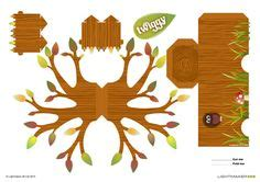 Tree Papercraft - papertoy on papercraft paper toys and minis