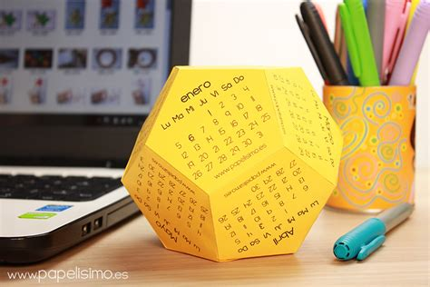 Foto Calendario Originale Calendario Escolar 3d 2015 2016 Pdf Para Imprimir