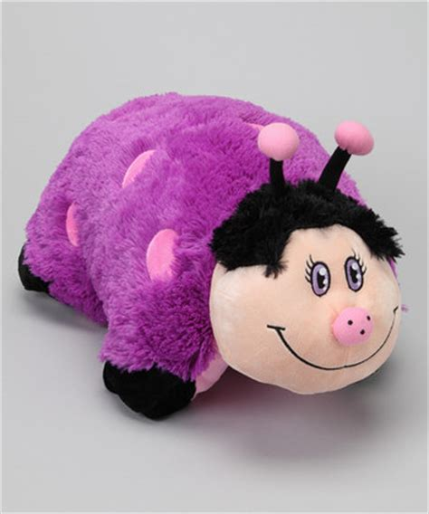 Purple Ladybug Pillow Pet by Pillow Pets And Lites Starting At Only 9 99