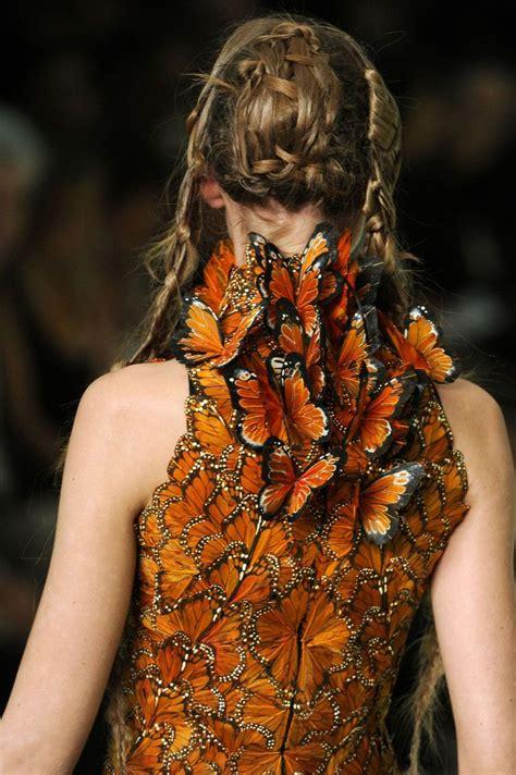 Mcqueen Butterfly Gown by Mcqueen Butterfly Dress Papillon The