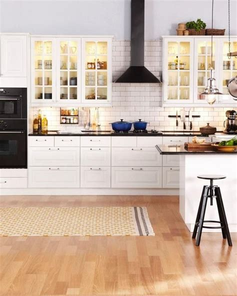 ultimate budget storage 10 kitchens with ikea s grundtal 26 best ikea bodbyn images on pinterest kitchen ideas