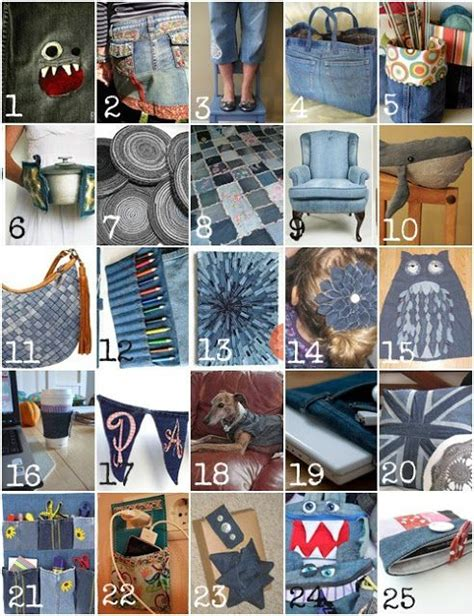 denim craft projects 25 recycling projects for projects crafts diy