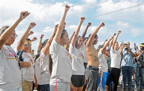 access to history protest it s time for every ally to show up in the fight against the dakota access pipeline the nation