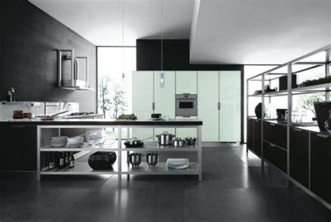 cuisine blanche sol noir carrelage et murs pour ma nouvelle cuisine page 2