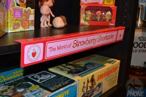 strawberry shortcake plastic shelf talker display