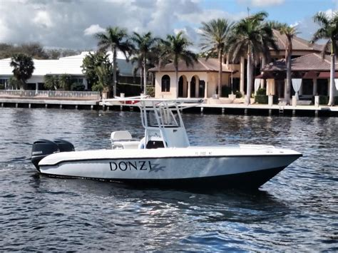 used donzi zf boats for sale 2005 used donzi 26 zf open center console fishing boat for