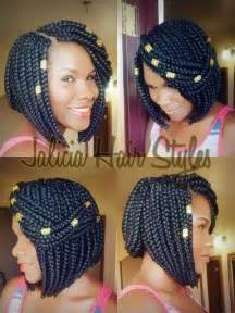 Type Of Hair To Use For Box Braids by Awesome Box Braids With A Bob Style Naturalhair