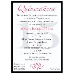 Quince Invitation Templates by Quinceanera Invitation Template Best Template Collection