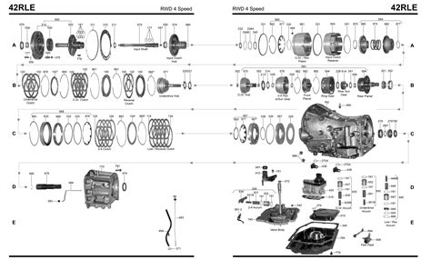 45rfe transmission diagram automatic transmission line drawings