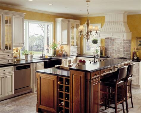 wrap around kitchen cabinets a farmhouse kitchen is designed for the baker of the home
