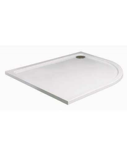 Slimline Shower Tray 1200 X 800 by Slimline 1200 X 800 Offset Quadrant Shower Tray Rh