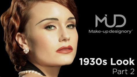 vintage makeup tutorial vintage makeup tutorial classic 1930 s look part2