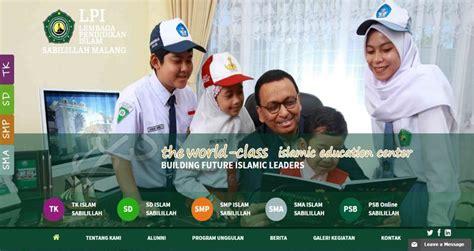 design website terbaik indonesia 20 design terbaik website sekolah di indonesia tahun 2016