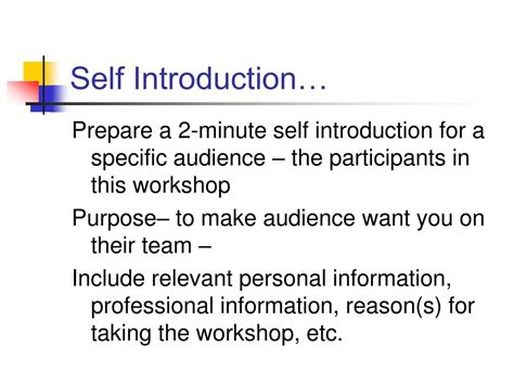 Ppt Self Introduction Powerpoint Presentation Id 233041 Self Introduction Ppt