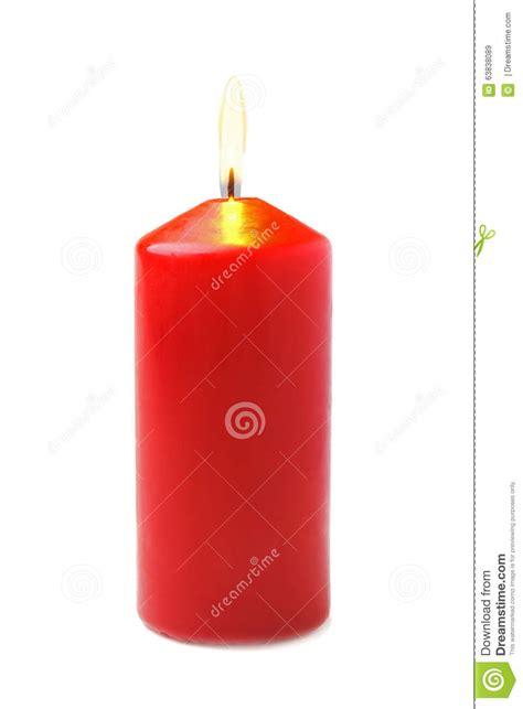 candela rossa candela rossa fotografia stock immagine 63838089