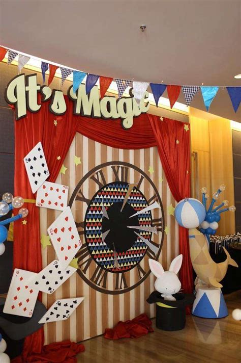 magic themed decorations magic birthday ideas photo 4 of 8 catch my