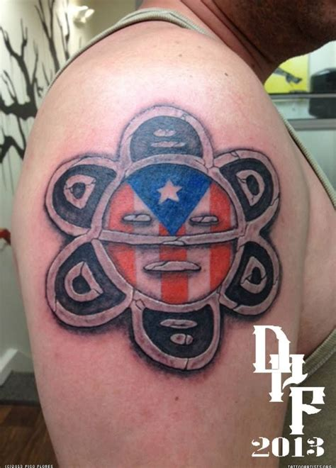 puerto rican tribal tattoos meanings best 25 flag ideas on