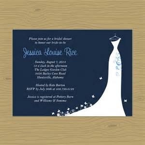 nautical bridal shower invitations announcement s stationery