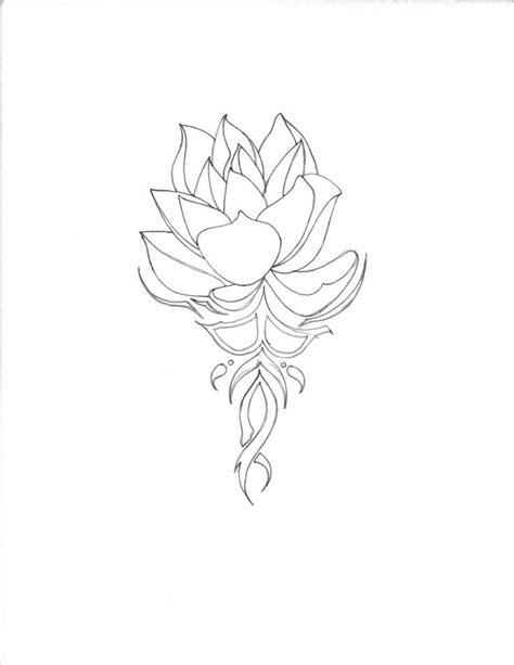 tattoo lotus tribal the 25 best tribal lotus tattoo ideas on pinterest
