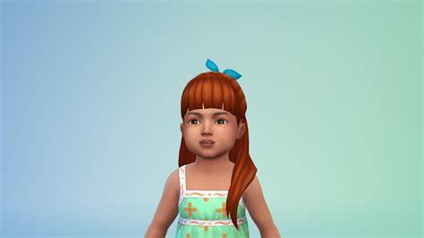 sims 4 custom content toddler toddler cc sims 4 hair