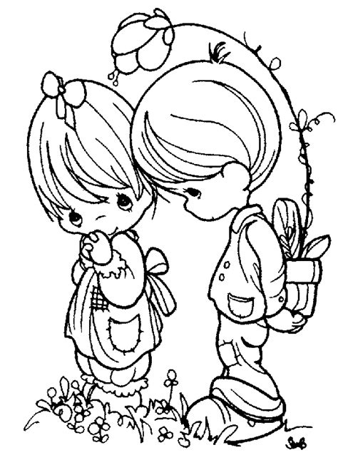 precious moments coloring pages kids world