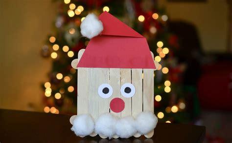 Délicieux Idee Decoration De Noel Exterieur #5: bricolage-de-Noel-en-bois-batonnets-bois-pere-noel-barbe-coton-chapeau-papier.jpg