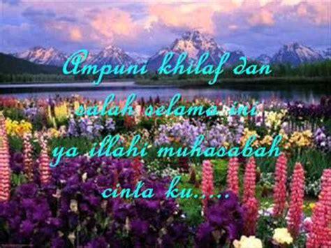 Butir Butir Cinta Illahi lagu muhasabah cinta edcoustic with lirik wmv by umie syakirah and free