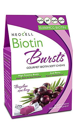 hair burst number 5 best biotin supplement products for hair growth