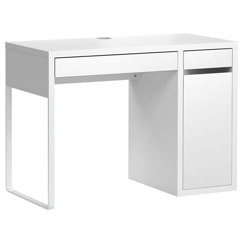 Small White Computer Desk Ikea Small White Desk Ikea Whitevan