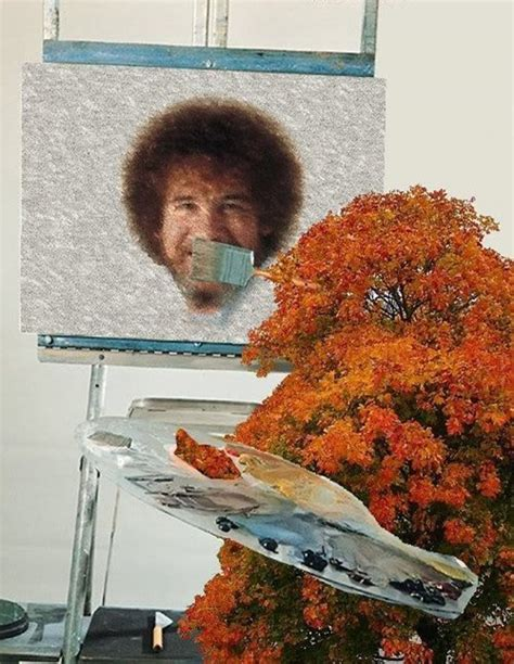 bob ross happy painter painting a happy bob ross barnorama