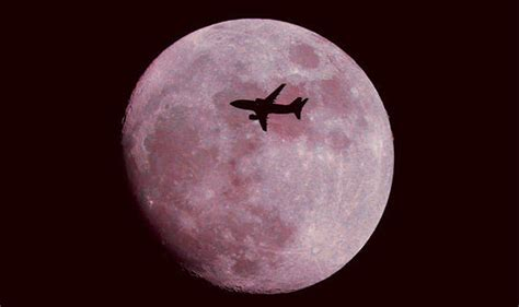 pink moon april pink moon 2017 if you ve missed it watch it again science news express co uk