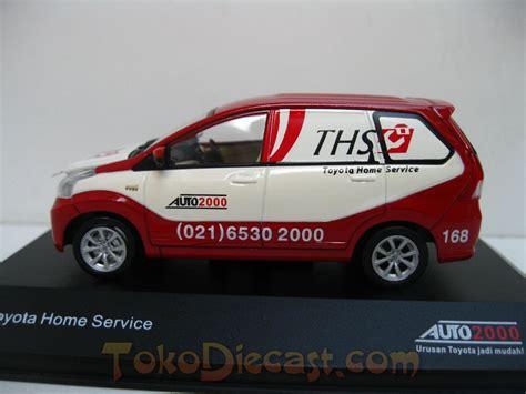 toyota home service jual avanza toyota home service diecast miniatur mobil 1
