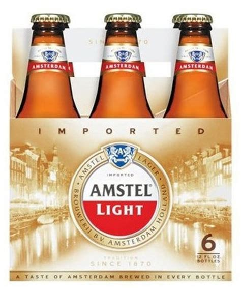 Amstel Light Content by Import A Cappione Inc