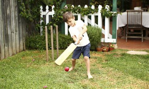 backyard cricket game 20 ways to create a magical backyard for your kids kidspot