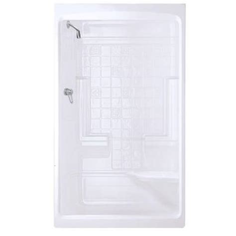 Home Depot Shower Stall by Maax Montego 35 In X 51 In X 85 In Shower Stall With