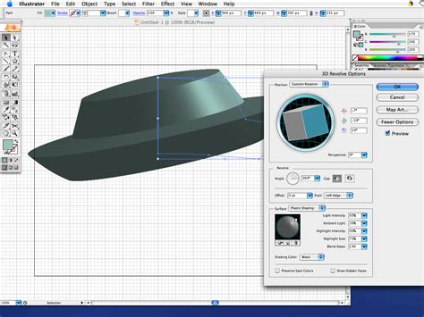 tutorial illustrator cs2 adobe illustrator very simple tutorial making a 3d hat