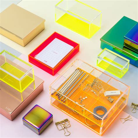 Acrylic Neon Box buy lund flash blocco acrylic box neon orange amara
