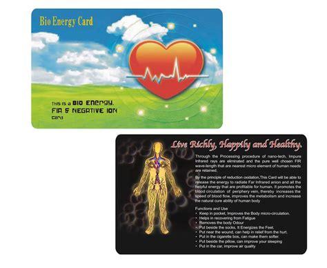 Bio Energy Card Msi china negative ion card bio energy card scalar energy card china negative ion card bio energy