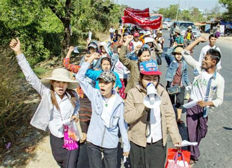 workers demand time for habitually offending employers the myanmar times