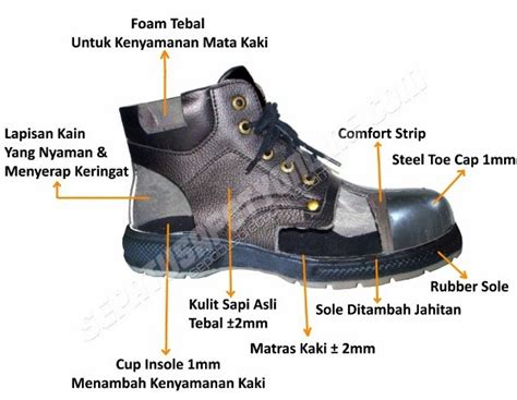 Sepatu Safety Merk Phyton jual sepatu safety murah pentingnya pakai sepatu safety