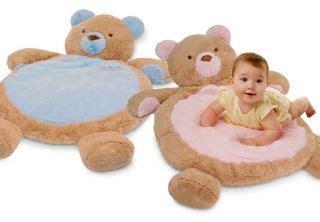Teddy Baby Play Mat by Inc Monkey Plush Animal Baby Infant Play Mat Gear 02532