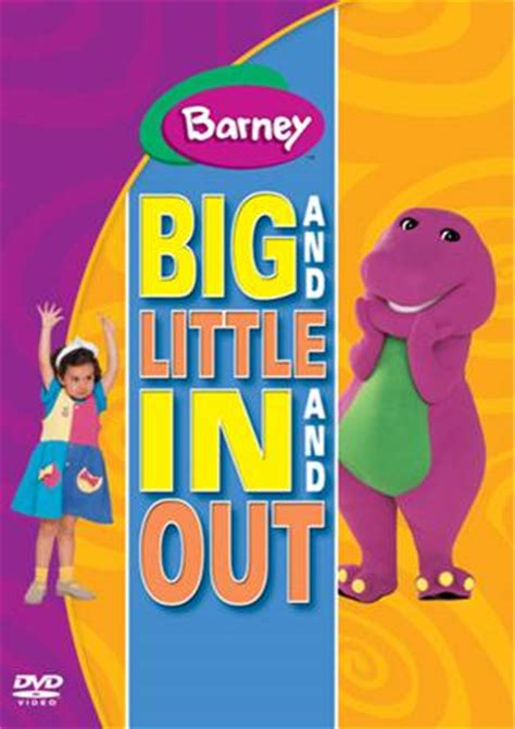 Barney And The Backyard Gang Dvd Image Barney Big And Little In And Out Jpg Barney Wiki