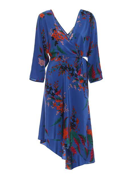 Printed Silk Dress diane furstenberg printed silk wrap around dress